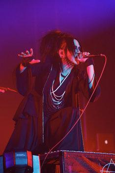 RUKI(Vo) (Photo by HIROE YAMAUCHI)