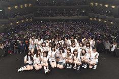 「AKB48グループ『誰かのためにプロジェクト』被災地復興支援ライブ」の様子。(c)AKS