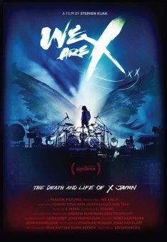 映画「We Are X」ポスタービジュアル