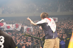 Ken Yokoyama「DEAD AT BUDOKAN RETURNS」の様子。(Photo by Teppei Kishida)