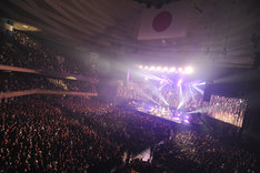 "Ken Yokoyama「DEAD AT BUDOKAN RETURNS」の様子。(Photo by Yuji""本田本""Honda)"