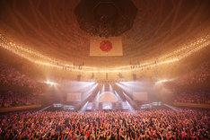 ゆいかおり「『RAINBOW CANARY!!』~Brightest Stage~」の様子。(撮影:尾形正茂)