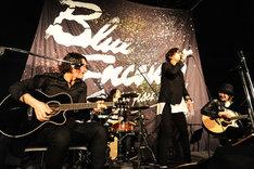 BLUE ENCOUNT「Survivorる?」シークレットライブの様子。(Photo by MASANORI FUJIKAWA)