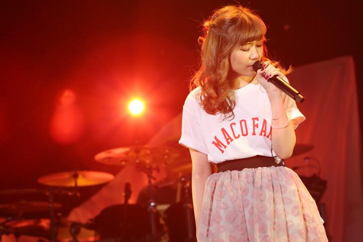 MACO「FIRST KISS TOUR 2016」豊洲PIT公演の様子。(写真提供:Virgin Music)