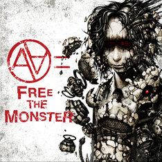 AA=×Masato(coldrain)+Koie(Crossfaith)「FREE THE MONSTER」ジャケット