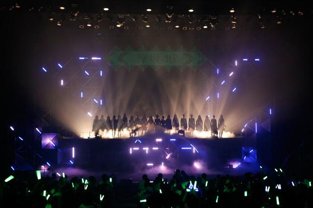 欅坂46の初単独ライブの様子。(写真提供:Sony Music Records)