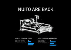 「NUITO ARE BACK.」告知用画像