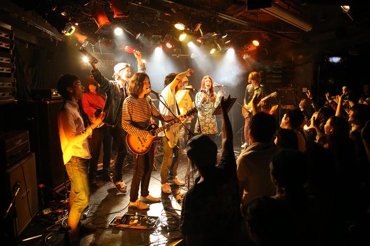 3月21日の「Virgin Rocks」の様子。(Photo by Shigeru Toyama)