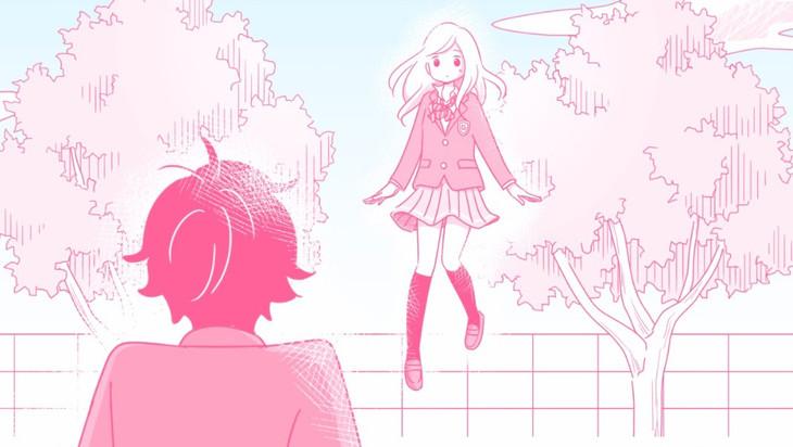 「飛行少女と僕」MVのワンシーン。