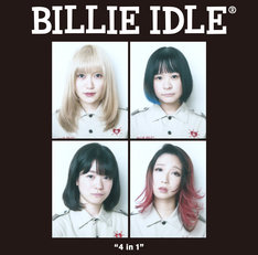 """BILLIE IDLE「""""4 in 1"""" THE OFFICIAL BOOTLEG」ジャケット"""