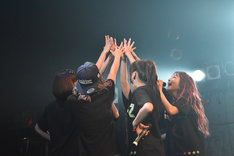 「Chu-Zワンマンライブ東名阪ツアー ~トウメイサカツアー開催Chu~」東京・TSUTAYA O-WEST公演の様子。