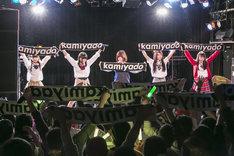 神宿定期公演「神が宿る場所~卒業式スペシャル~」の様子。(撮影:藤巻祐介)