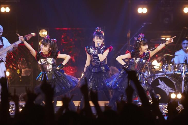 「MJ presents BABYMETAL革命 ~少女たちは世界と戦う~」スタジオライブの様子。(写真提供:NHK)