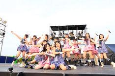 4月2日に行われた「チーム8結成2周年記念特別公演 in 沖縄 めんそ~れ!春のエイト祭り」の様子。(c)AKS