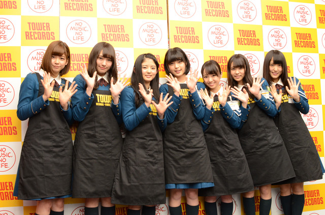 欅坂46 渋谷タワーレコード1日店長