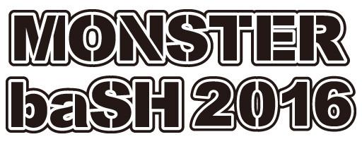 「MONSTER baSH 2016」ロゴ