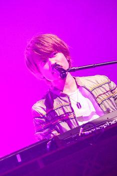 杉本雄治(Vo, Piano)(撮影:渡邉一生)