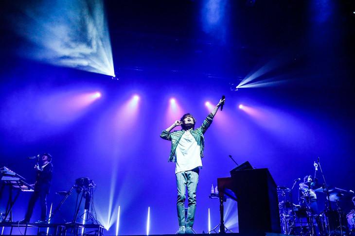 WEAVER「WEAVER 11th TOUR 2016『Draw a Night Rainbow』」大阪・オリックス劇場公演の様子。(撮影:渡邉一生)