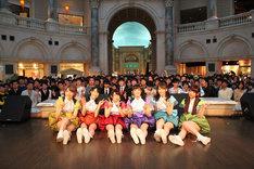 i☆Ris「Th!s !s i☆Ris!!」リリース記念イベントの様子。(写真提供:avex pictures)