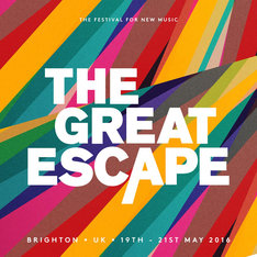 「The Great Escape 2016」ビジュアル