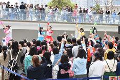 ときめき▽宣伝部~3rd SEASON~「むてきなツアー」公演初日の様子。