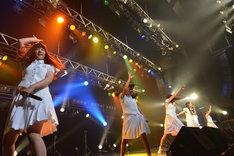 アイドルネッサンス「シブヤで2周年を感謝するネッサンス!!」の様子。