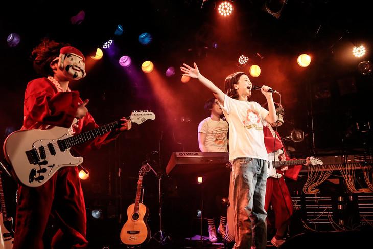 三戸なつめ「三戸なつめはオメデタイ」東京・渋谷CLUB QUATTRO公演の様子。(Photo by Yosuke Torii)