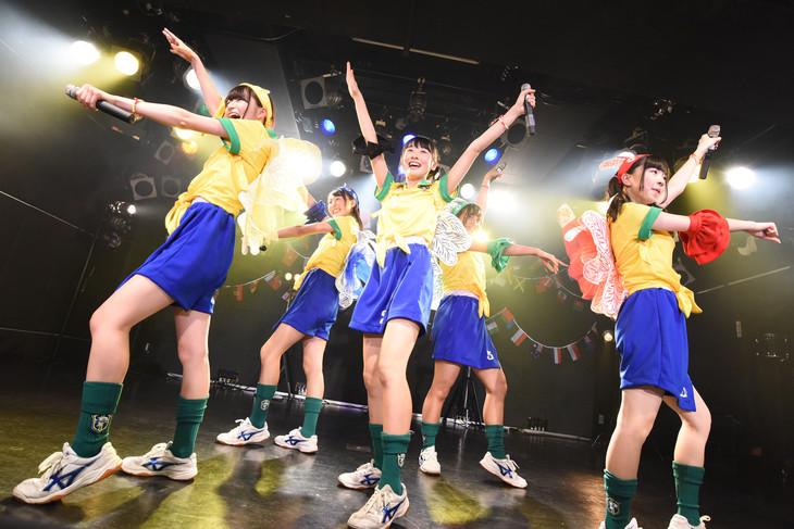 ぷちぱすぽ☆1stワンマンライブの様子。