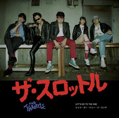 THE THROTTLE「LET'S GO TO THE END」ジャケット