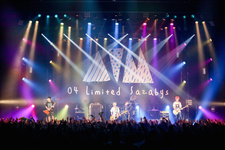04 Limited Sazabys「AIM tour 2016」東京・豊洲PIT公演の様子。(Photo by  Viola Kam [V'z Twinkle Photography])