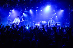 avengers in sci-fi「Dune Walk Tour」東京・渋谷CLUB QUATTRO公演の様子。(撮影:橋本塁[SOUND SHOOTER])
