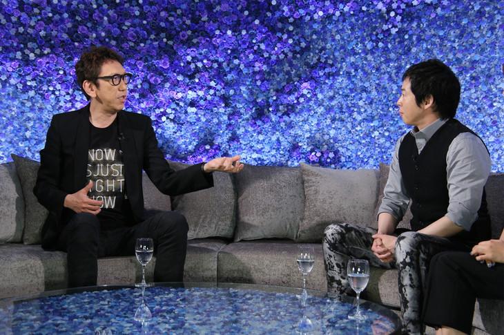 左から布袋寅泰、今田耕司。 (c)日本テレビ