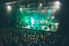 Suck a Stew Dry「N/A ~Ninja Action Tour~」東京・TSUTAYA O-EAST公演の様子。(撮影:永峰拓也)