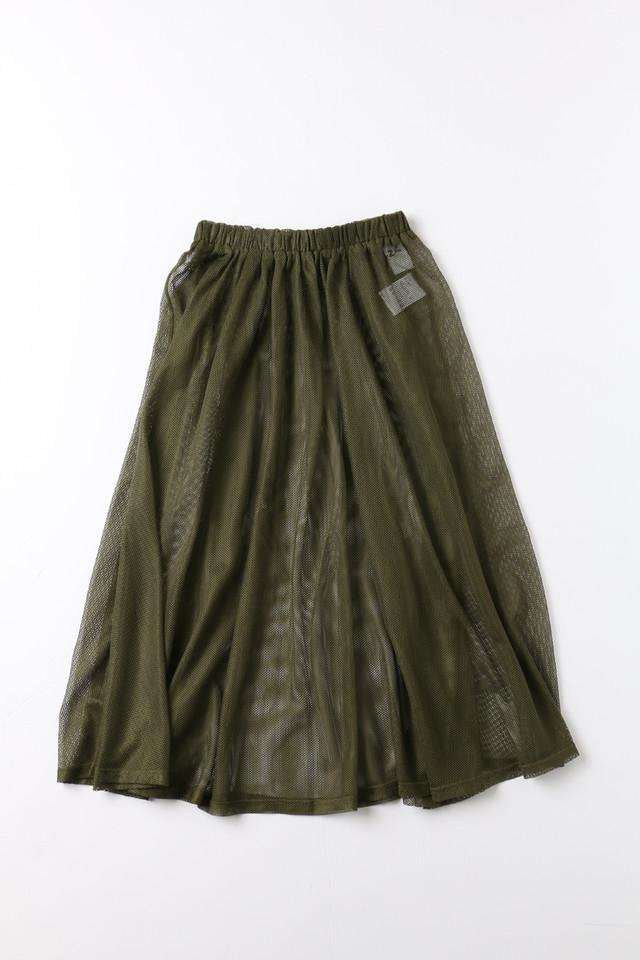 「Pzzz」メッシュスカート