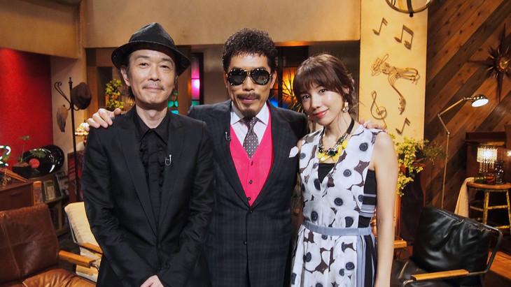 左からリリー・フランキー、鈴木雅之、仲里依紗。(写真提供:NHK)