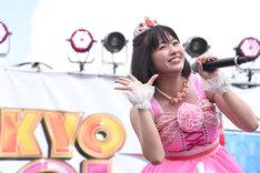 「TOKYO IDOL FESTIVAL 2016」でも初日の朝一番にライブを行った佐々木彩夏。