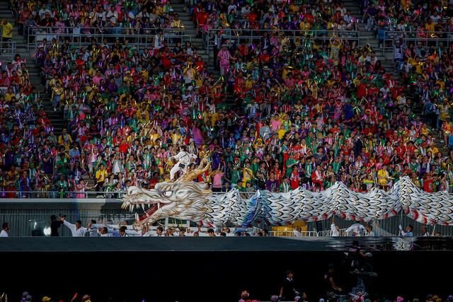 「桃神祭」の様子。 (Photo by HAJIME KAMIIISAKA+Z)