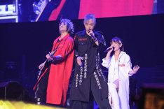 筋肉少女帯×angela (c) Animelo Summer Live 2016/MAGES.