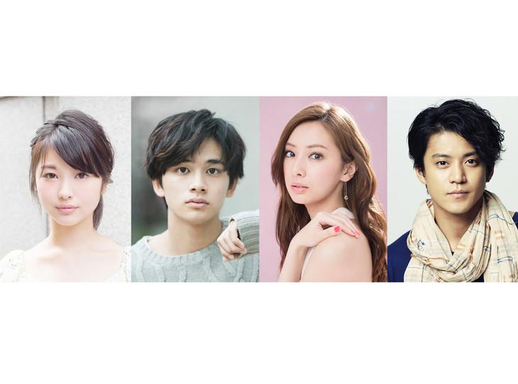 左から浜辺美波、北村匠海(DISH//)、北川景子、小栗旬。 (c)2017「君の膵臓をたべたい」製作委員会