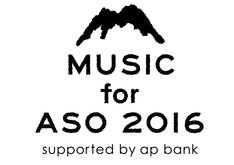 「MUSIC for ASO 2016 supported by ap bank」ロゴ