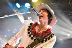 竹田昌和(Vo, G / ウソツキ)(Photo by Daisuke Miyashita)