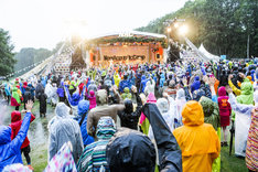 「New Acoustic Camp 2016」でのEGO-WRAPPIN'のライブの様子。  (c)New Acoustic Camp