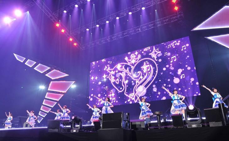 「Animelo Summer Live 2016 刻 -TOKI-」初日公演のトリを飾ったアイドルマスター シンデレラガールズ。(c) Animelo Summer Live 2016 / MAGES.