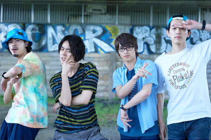 グリーンボーイズ。左から成田凌、菅田将暉、横浜流星、杉野遥亮。