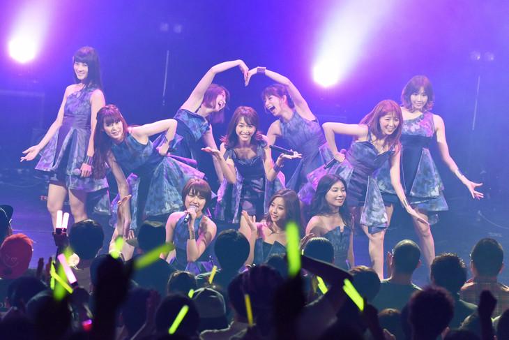 「predia 6th Anniversary tour」東京公演の様子。