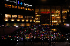 M!LKの5thシングルリリースイベントの様子。(Photo by Seki Junichi)