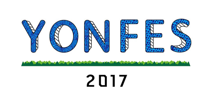「YON FES 2017」ロゴ