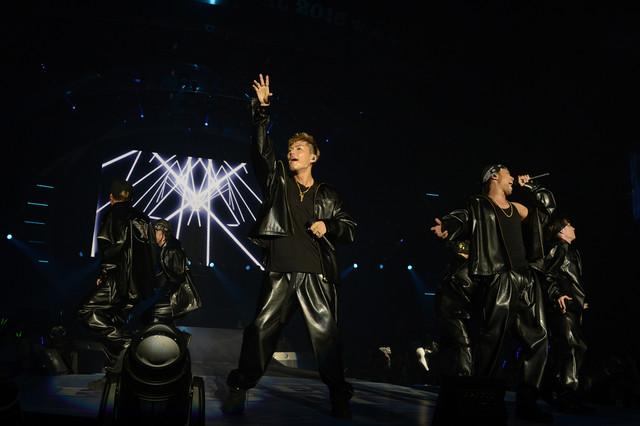 EXILE THE SECOND (c)テレビ朝日 ドリームフェスティバル 2016