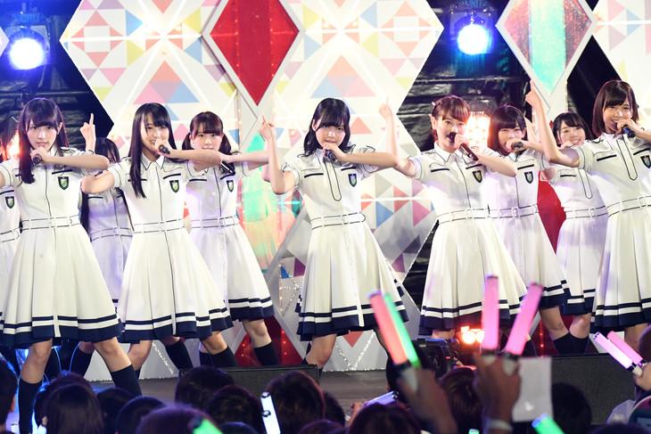 欅坂46 (c)テレビ朝日