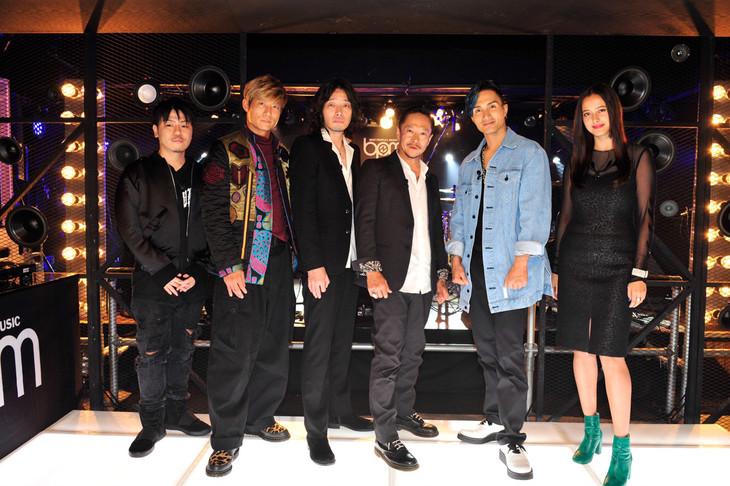 「BPM~BEST PEOPLE's MUSIC~」11月7日放送回の出演者たち。